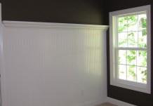 Bedroom Wainscoting Design Plan