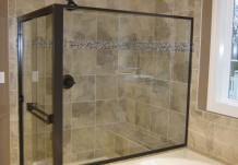 Glass Shower Kitchen Plan for Regent Homes