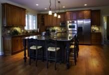 Kitchen Island in Regent Homes