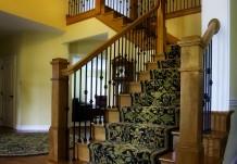 Carpeted Stairway Option in Regent Building Plan